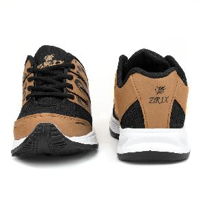 ZX-28 Tan Black Shoes 01