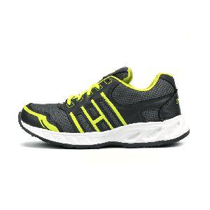ZX 3 Mens Grey & P Green Shoe 02