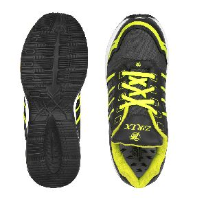 ZX 3 Mens Grey & P Green Shoe 04
