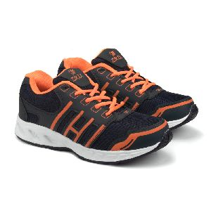 ZX-3 Mens Navy Blue & Orange Shoes