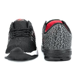 ZX-32 Black & Red Shoes 03