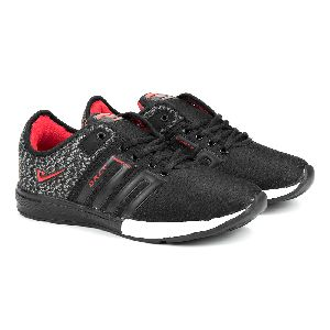 ZX-32 Black & Red Shoes 05