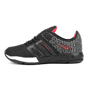 ZX-32 Black & Red Shoes
