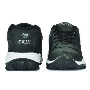 ZX 5 Mens Black Shoes 02