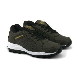 ZX 5 Mens Mehndi & Black Shoes 01