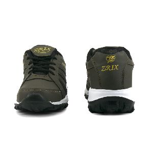 ZX 5 Mens Mehndi & Black Shoes 02