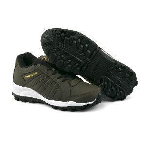 ZX 5 Mens Mehndi & Black Shoes 04