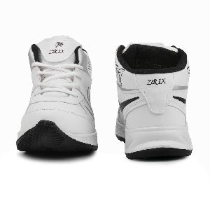 ZX-501 White & Black Shoes 02