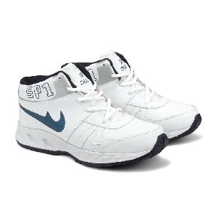 ZX-501 White & Blue Shoes 01