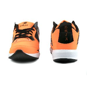ZX-503 Black & Orange Shoes 02