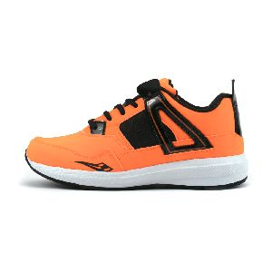 ZX-503 Black & Orange Shoes 03