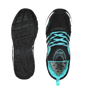 ZX 8 Mens Black & Sea Shoes 04
