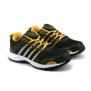 ZX 8 Mens Black & Yellow Shoes 01