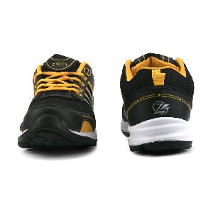 ZX 8 Mens Black & Yellow Shoes 02