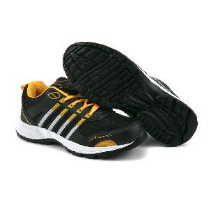 ZX 8 Mens Black & Yellow Shoes 04