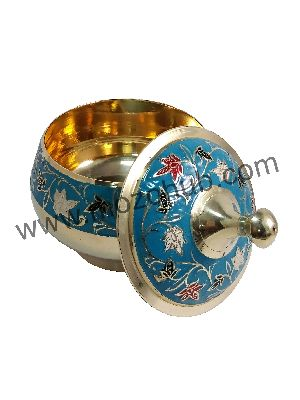 Blue Brass Barni Jars