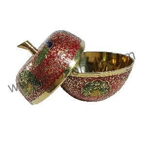 Brass Apple Pot