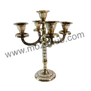 Brass Candle Stand 02