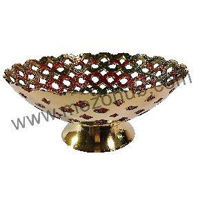 Brass Fruit Bowls
