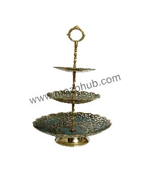 Brass Fruit Stand 04