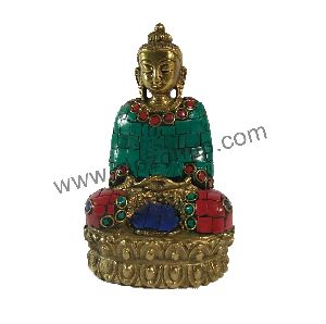 Brass Idol Statue 02