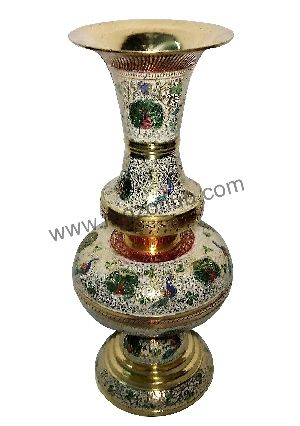 Brass Table Vase 02