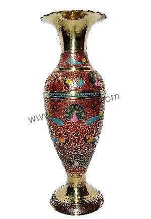 Brass Table Vase 03