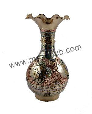 Brass Table Vase 04