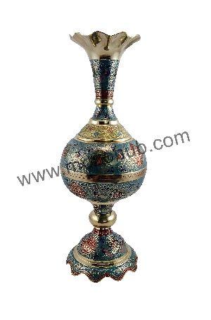 Brass Table Vase 05