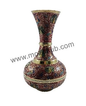 Brass Table Vase 07