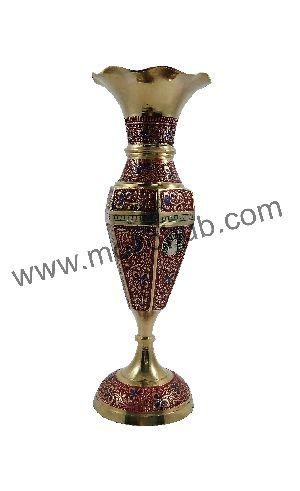 Brass Table Vase 08