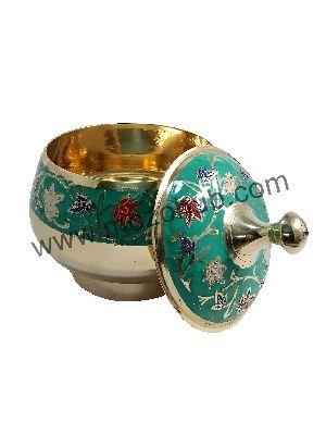 Green Brass Barni Jars