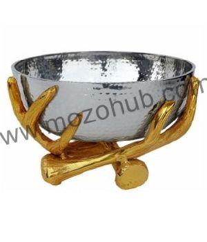 Metallic Decorative Bowl 04