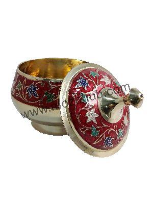 Red Brass Barni Jars
