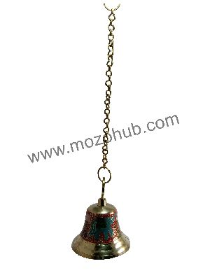 Red Brass Hanging Bell