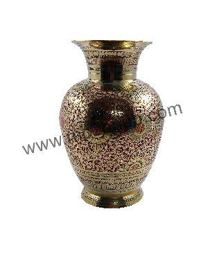 Brass Table Vase 06