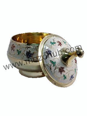 White Brass Barni Jars