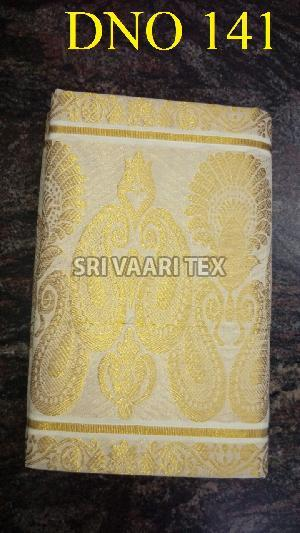 D No. 141 Kerala Cotton Saree