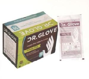 Dr. Powder Free Latex Surgical Gloves