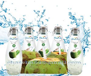 Glass Bottled Coconut Water