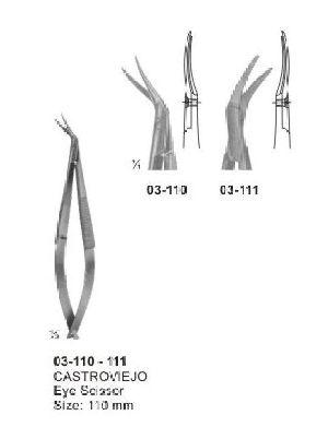 03-110-111 Spring Type Flat Handle Scissor