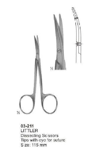 03-211 Littler Dissecting Scissor