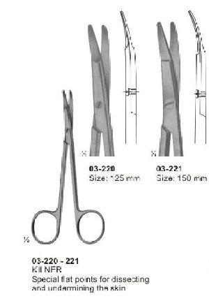 03-220-221 Kilner Dissecting Scissor
