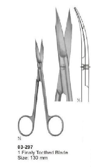 03-297 Delicate Nasal Tonsil Scissor