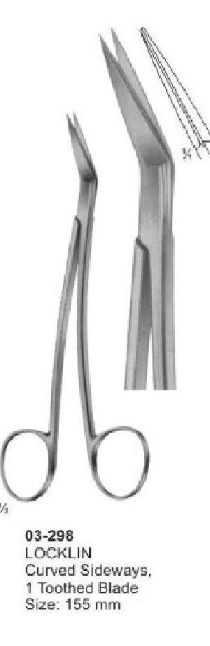 03-298 Delicate Nasal Tonsil Scissor