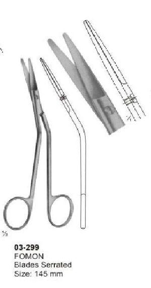 03-299 Delicate Nasal Tonsil Scissor