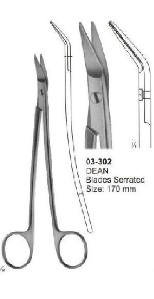 03-302 Delicate Nasal Tonsil Scissor