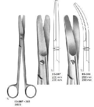 03-307-308 Operating and Gynaecology Scissor