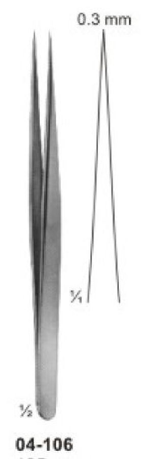 04-106 Jeweler-Type Micro Forcep