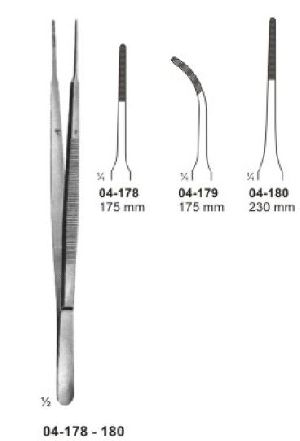04-178-180 Delicate Dissecting Forcep